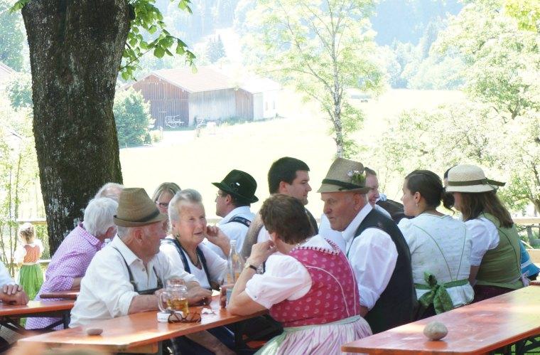 Biergarten alemania