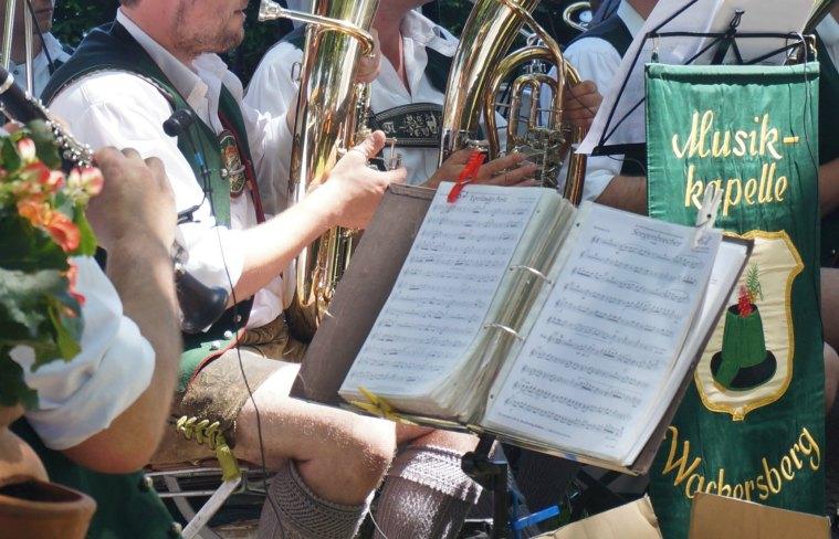 Banda música bávara